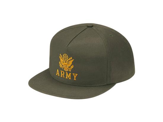 Supreme - Army 5 Panel Hat - UG.SHAFT d12e17ad3f3